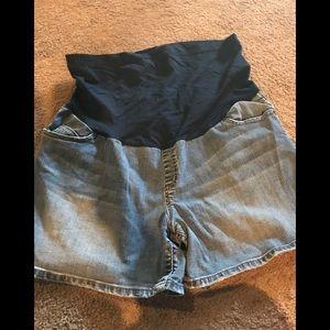 Xl maternity shorts